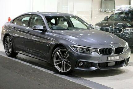 2018 BMW 430i F36 LCI M Sport Grey Sports Automatic Southbank Melbourne City Preview