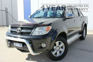 2006 Toyota Hilux GGN25R SR5 (4x4) Black 5 Speed Automatic Dual Cab Pick-up Carrum Downs Frankston Area Preview
