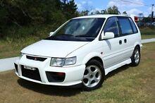 1997 Mitsubishi RVR HYPER GEAR White Manual Wagon Slacks Creek Logan Area Preview