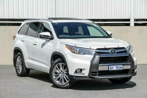 2015 Toyota Kluger GSU55R Grande (4x4) White 6 Speed Automatic Wagon Cannington Canning Area Preview