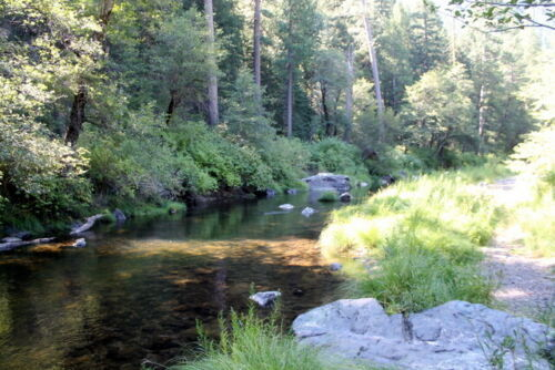 Old Channel Placer Gold Mining Claim Indian Creek 80 Acres Plumas County, CA