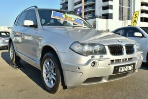 2005 BMW X3 E83 Wagon 5dr Steptronic 5sp 4WD 3.0i [MY05] Silver Sports Automatic Wagon Liverpool Liverpool Area Preview