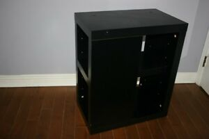 Ikea Shelf. Nice Finish. In great condition and black color.