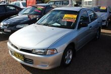 1996 Mitsubishi Lancer CE GLi Silver 4 Speed Automatic Sedan Minchinbury Blacktown Area Preview