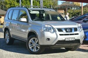 2013 Nissan X-Trail T31 Series 5 ST (FWD) Silver 6 Speed Manual Wagon Wyoming Gosford Area Preview