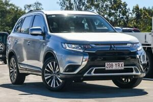 2018 Mitsubishi Outlander ZL MY19 ES 2WD Sterling Silver 6 Speed Constant Variable Wagon Aspley Brisbane North East Preview