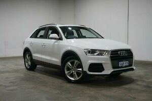 2017 Audi Q3 8U MY18 TFSI S Tronic White 6 Speed Sports Automatic Dual Clutch Wagon Welshpool Canning Area Preview