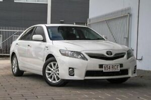 2010 Toyota Camry AHV40R MY10 Hybrid White 1 Speed Constant Variable Sedan Hybrid Springwood Logan Area Preview