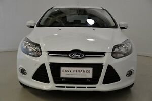 2014 Ford Focus LW MKII MY14 Sport PwrShift White 6 Speed Sports Automatic Dual Clutch Hatchback Mansfield Brisbane South East Preview