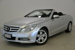 2011 Mercedes-Benz E250 A207 MY12 BlueEFFICIENCY 7G-Tronic + Avantgarde Silver 7 Speed Mansfield Brisbane South East Preview