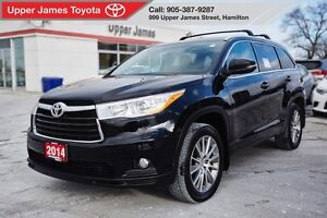 2014 Toyota Highlander XLE - Just traded!  Super low kms!!