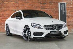 2017 Mercedes-Benz C-Class C205 C43 AMG White Sports Automatic Mulgrave Monash Area Preview