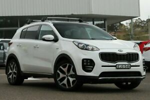 2016 Kia Sportage QL MY17 GT-Line (AWD) Snow White Pearl 6 Speed Automatic Wagon Wyong Wyong Area Preview