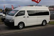 2011 Toyota Hiace KDH223R MY11 Commuter High Roof Super LWB White 4 Speed Automatic Bus Altona North Hobsons Bay Area Preview