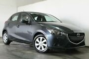 2016 Mazda 2 DJ2HAA Neo Grey Semi Auto Hatchback Underwood Logan Area Preview