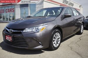 2015 Toyota Camry LE - Toyota Certified  EDGE!