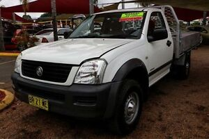 2003 Holden Rodeo RA LX White 5 Speed Manual Cab Chassis Colyton Penrith Area Preview