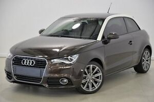 2010 Audi A1 8X MY11 Ambition S tronic Brown 7 Speed Sports Automatic Dual Clutch Hatchback Mansfield Brisbane South East Preview