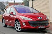2008 Peugeot 308 T7 XSE HDI Red 6 Speed Sports Automatic Hatchback Glenelg Holdfast Bay Preview