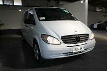 2010 Mercedes-Benz Vito MY10 111CDI Compact Crew Cab White 6 Speed Manual Van Pennington Charles Sturt Area Preview