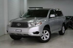 2010 Toyota Kluger GSU45R KX-R AWD Silver 5 Speed Sports Automatic Wagon Castle Hill The Hills District Preview