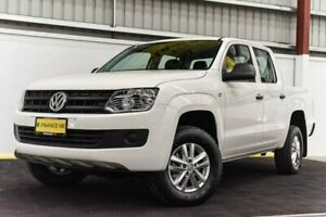 2016 Volkswagen Amarok 2H MY16 TDI420 4MOTION Perm Core White 8 Speed Automatic Utility Canning Vale Canning Area Preview