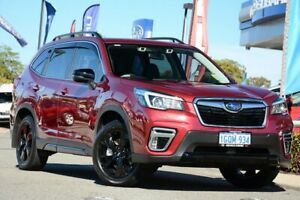 2018 Subaru Forester S5 MY19 2.5i-S CVT AWD Crimson Red 7 Speed Constant Variable Wagon