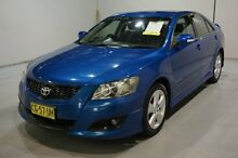 2007 Toyota Aurion GSV40R Sportivo SX6 Blue 6 Speed Sports Automatic Sedan Old Guildford Fairfield Area Preview