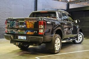 2014 Ford Ranger PX Wildtrak Double Cab Black 6 Speed Sports Automatic Utility