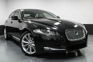 2014 Jaguar XF X250 MY14 Luxury Black 8 Speed Sports Automatic Sedan Glendale Lake Macquarie Area Preview