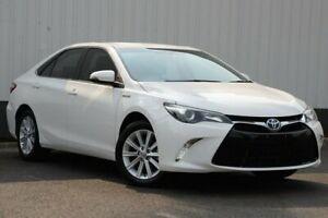 2016 Toyota Camry AVV50R Atara S White 1 Speed Constant Variable Sedan Hybrid Oakleigh Monash Area Preview