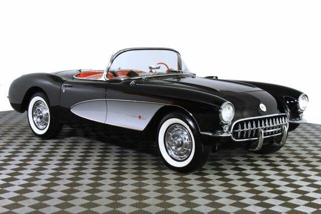 1957 Black Chevrolet Corvette     C1 Corvette Photo 4
