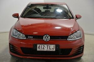 2013 Volkswagen Golf VII MY14 GTI DSG Red 6 Speed Sports Automatic Dual Clutch Hatchback Mansfield Brisbane South East Preview