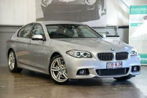 2016 BMW 520d F10 LCI M Sport Steptronic Silver 8 Speed Sports Automatic Sedan