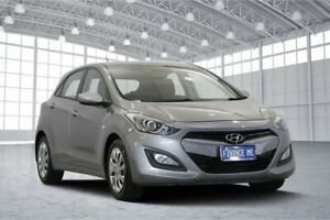 2012 Hyundai i30 GD Active Grey 6 Speed Sports Automatic Hatchback Victoria Park Victoria Park Area Preview