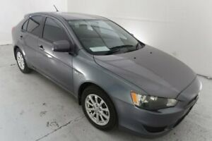 2010 Mitsubishi Lancer CJ MY10 Activ Sportback Grey 5 Speed Manual Hatchback Hamilton North Newcastle Area Preview