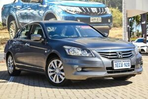 2012 Honda Accord 8th Gen MY12 Limited Edition Grey 5 Speed Sports Automatic Sedan Morley Bayswater Area Preview