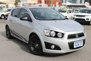 2015 Holden Barina TM MY15 X Silver 6 Speed Automatic Hatchback