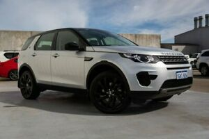 2017 Land Rover Discovery Sport L550 17MY TD4 180 SE Silver 9 Speed Sports Automatic Wagon Canning Vale Canning Area Preview