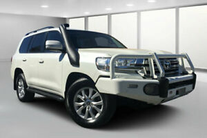 2016 Toyota Landcruiser VDJ200R MY16 VX (4x4) Crystal Pearl 6 Speed Automatic Wagon Dalby Dalby Area Preview