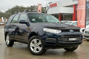 2012 Ford Territory SZ TS Seq Sport Shift Blue 6 Speed Sports Automatic Wagon Gosford Gosford Area Preview