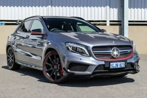 2014 Mercedes-Benz GLA-Class X156 GLA45 AMG SPEEDSHIFT DCT 4MATIC Grey Sports Automatic Dual Clutch Cannington Canning Area Preview