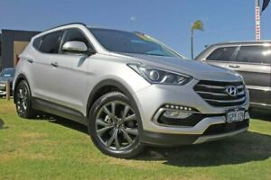 2018 Hyundai Santa Fe DM5 MY18 Active X 2WD Silver 6 Speed Sports Automatic Wagon Wangara Wanneroo Area Preview