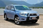 2008 Toyota Kluger GSU40R KX-S 2WD Blue Semi Auto Wagon Portsmith Cairns City Preview