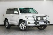 2009 Toyota Landcruiser VDJ200R Sahara White 6 Speed Sports Automatic Wagon Victoria Park Victoria Park Area Preview
