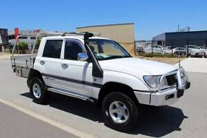 2000 Toyota LandCruiser GXL Dual cab Tray back Wangara Wanneroo Area Preview