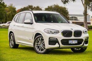 2018 BMW X3 G01 xDrive20d Steptronic Alpine White 8 Speed Automatic Wagon Burswood Victoria Park Area Preview