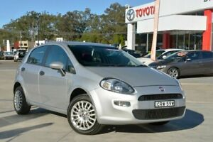 2013 Fiat Punto MY13 Easy Silver 5 Speed Automated Manual Hatchback Gosford Gosford Area Preview