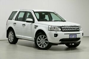 2011 Land Rover Freelander 2 LF MY11 HSE (4x4) White 6 Speed Automatic Wagon