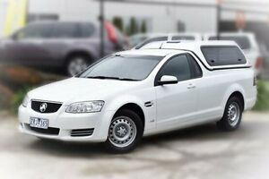2013 Holden Ute VE II MY12.5 Omega White 6 Speed Sports Automatic Utility Berwick Casey Area Preview